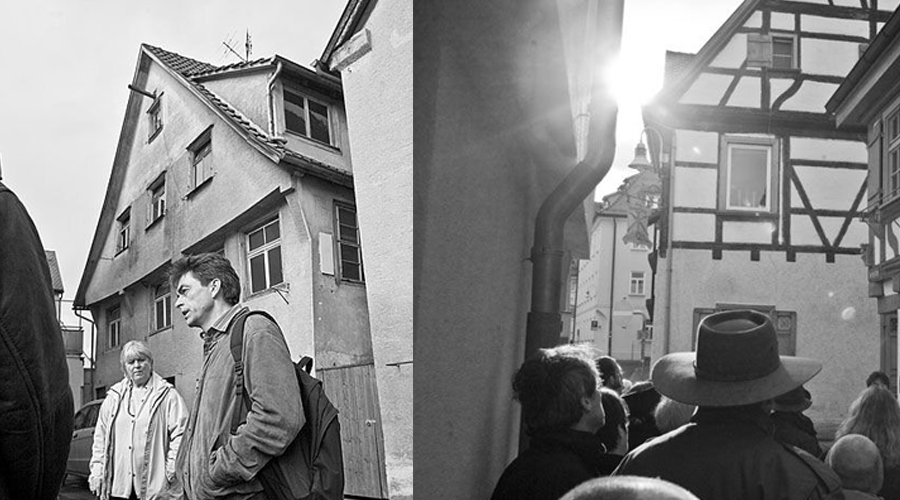 Stadtführung mit Bernd Otto im März 2009